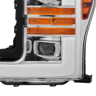 Ford F250 Super Duty 2017-2019 Projector Headlights Switchback LED DRL Dynamic Signal Lights