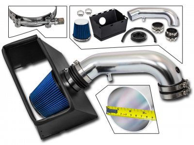 Dodge Ram 2009-2015 Cold Air Intake with Blue Air Filter