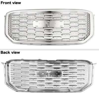 GMC Yukon XL Denali 2015-2019 Chrome New Denali Style Grille