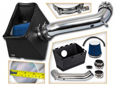 Dodge Ram 2500 2003-2008 Cold Air Intake with Blue Air Filter