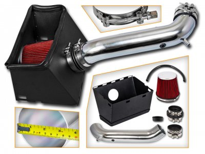 Dodge Ram 2500 2003-2008 Cold Air Intake with Red Air Filter