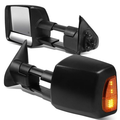 Toyota Tacoma 2016-2020 Towing Mirrors LED Lights Power ...