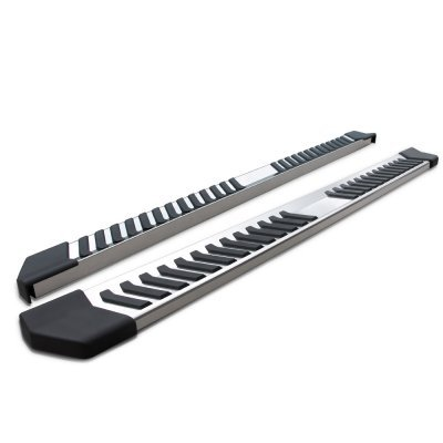 Ford F150 SuperCrew 2009-2014 Running Boards Step Stainless 6 Inch
