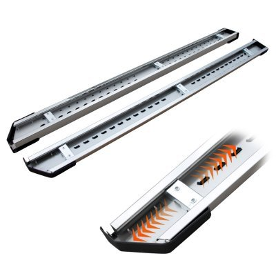 Ford F250 Super Duty SuperCab 1999-2007 Running Boards Step Stainless 6 Inch