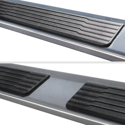 Chevy Silverado 1500 Double Cab 2015-2018 New Running Boards Stainless 6 Inches