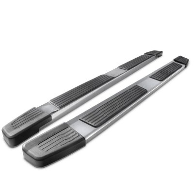 GMC Sierra 1500 Double Cab 2019-2021 New Running Boards Stainless 6 Inches