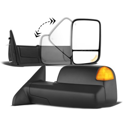Dodge Ram 3500 2010-2018 Power Heated Turn Signal Towing Mirrors