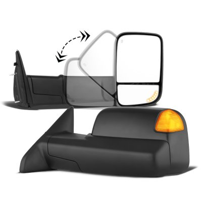 Dodge Ram 1500 2002-2008 New Power Heated Turn Signal Towing Mirrors