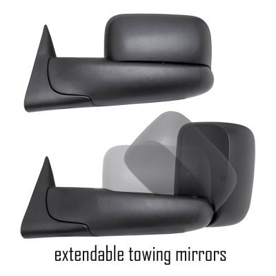Toyota Tacoma 2005-2015 Towing Mirrors Power Heated