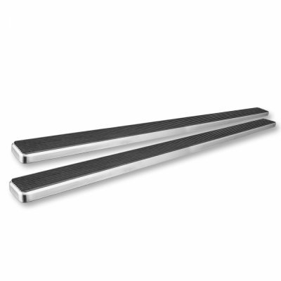 GMC Sierra 3500 Regular Cab 1988-1998 iBoard Running Boards Aluminum 4 Inch