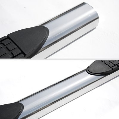 Toyota Tacoma Access Cab 2005-2015 Running Boards Stainless 4 Inch