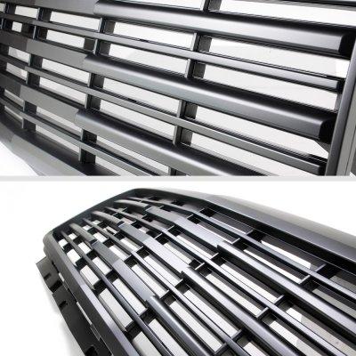 Chevy Silverado 2500HD 2015-2019 Black Grille