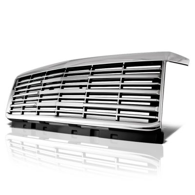 Chevy Silverado 2500HD 2015-2019 Chrome Grille