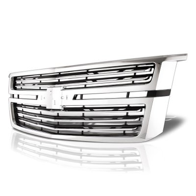 Chevy Suburban 2015-2020 Chrome LTZ Premier Grille