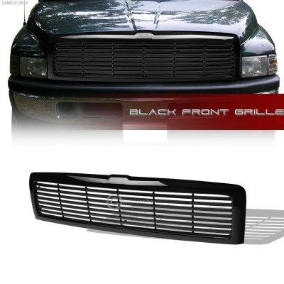 Dodge Ram 3500 1994-2002 Black Billet Grille