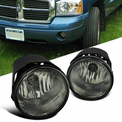 Jeep Commander 2006-2010 Smoked OEM Style Fog Lights