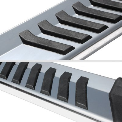 Ford F250 Super Duty Regular Cab 2017-2020 Running Boards Step Stainless 6 Inch