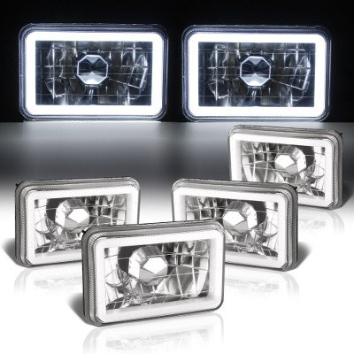 Chevy Suburban 1981-1988 Halo Tube Sealed Beam Headlight Conversion Low and High Beams