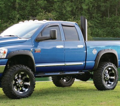 Dodge Ram 2500 2003-2009 Fender Flares Pocket Rivet