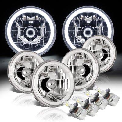 Chevy El Camino 1964-1970 Halo Tube LED Headlights Conversion Kit