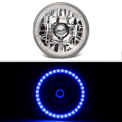 Buick Special 1961-1969 Blue LED Halo Sealed Beam Headlight Conversion