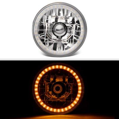 Chevy El Camino 1964-1970 Amber LED Halo Sealed Beam Headlight Conversion
