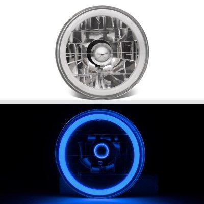 Chevy El Camino 1964-1970 Blue Halo Tube Sealed Beam Headlight Conversion