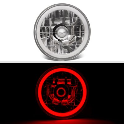 Buick Special 1961-1969 Red Halo Tube Sealed Beam Headlight Conversion