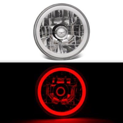 Pontiac LeMans 1964-1972 Red Halo Tube Sealed Beam Headlight Conversion