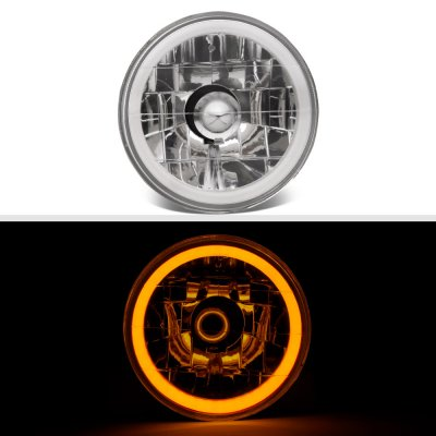 Plymouth Belvedere 1962-1970 Amber Halo Tube Sealed Beam Headlight Conversion