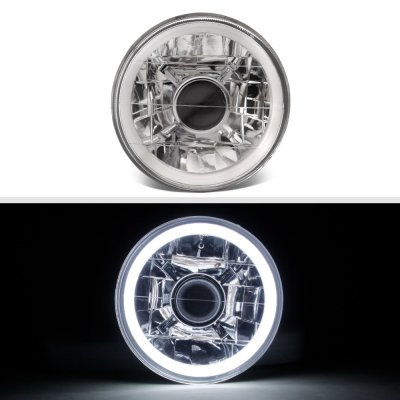 Cadillac Deville 1961-1972 Halo Tube Sealed Beam Projector Headlight Conversion