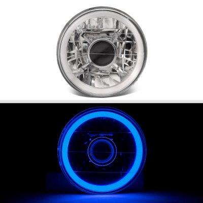Chevy El Camino 1964-1970 Blue Halo Tube Sealed Beam Projector Headlight Conversion