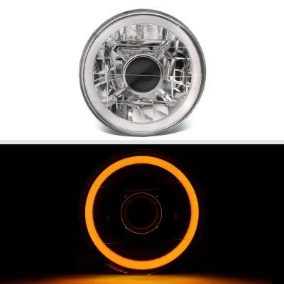 Pontiac LeMans 1964-1972 Amber Halo Tube Sealed Beam Projector Headlight Conversion