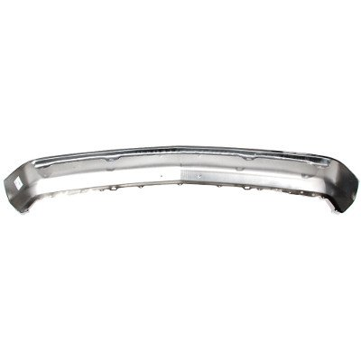 Chevy Silverado 1994-1998 Chrome Front Bumper License Bracket Holes