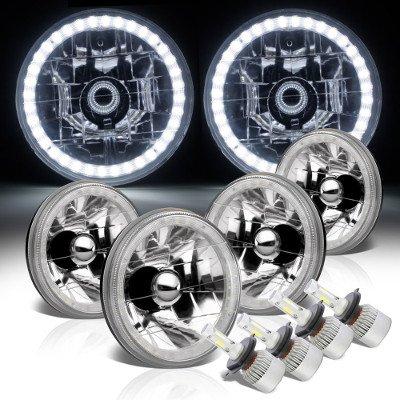 Chevy El Camino 1964-1970 LED Halo LED Headlights Conversion Kit
