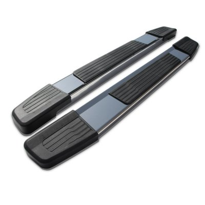 Chevy Silverado 2500HD Regular Cab 2007-2014 New Running Boards Stainless 6 Inches