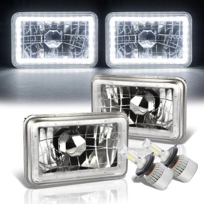 Isuzu Impulse 1984-1986 White LED Halo LED Headlights Conversion Kit