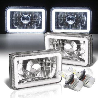 Pontiac LeMans 1976-1977 Halo Tube LED Headlights Conversion Kit