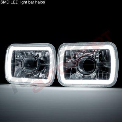 Buick Reatta 1988-1991 Halo Tube Sealed Beam Projector Headlight Conversion