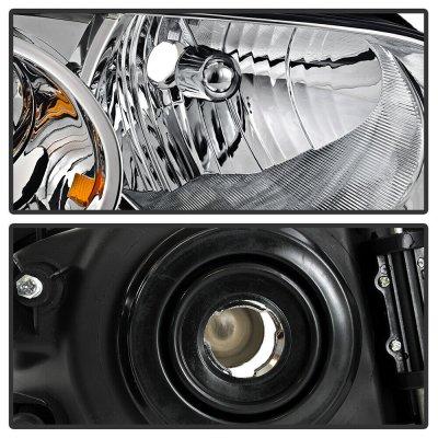 Nissan Sentra 2004-2006 Chrome Euro Headlights