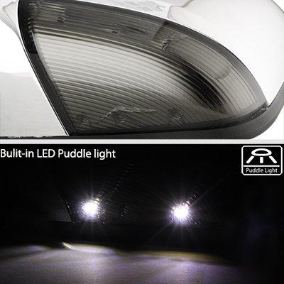 Dodge Ram 1500 2013-2018 Chrome Power Heated Side Mirrors Smoked LED Signal