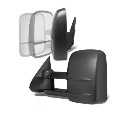 Chevy Silverado 1999-2002 Power Folding Towing Mirrors Conversion