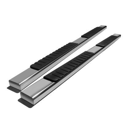 Ford F250 Super Duty Crew 2017-2021 Running Boards Stainless 6 Inches