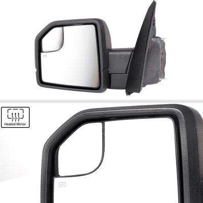 Ford F150 XL 2018-2020 Side Mirrors Power Heated LED Signal Temp Sensor