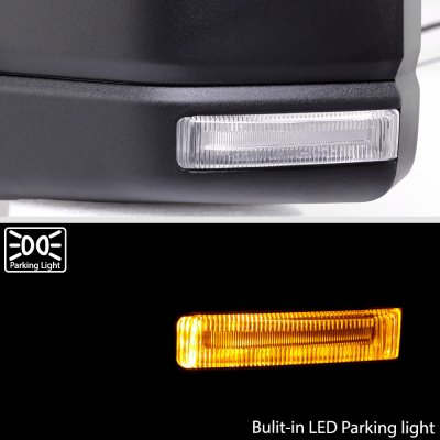 Ford F150 XL 2018-2020 Side Mirrors Power Heated LED Signal