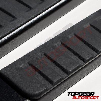 Chevy Silverado 1500 Regular Cab 2019-2021 Running Boards Black 6 Inches