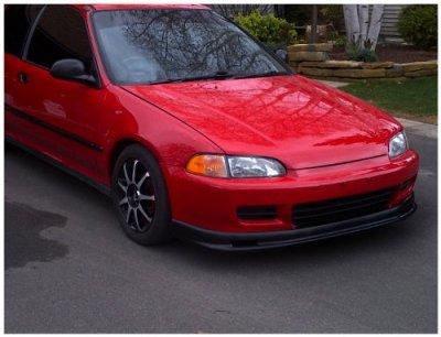 Honda Civic 1992-1995 Mugen Style Front Lip