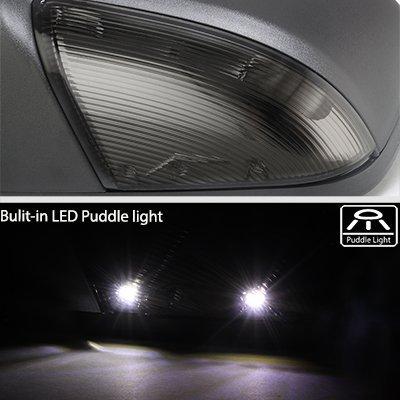 Dodge Ram 1500 2009-2012 Power Folding Side Mirrors Smoked LED Signal