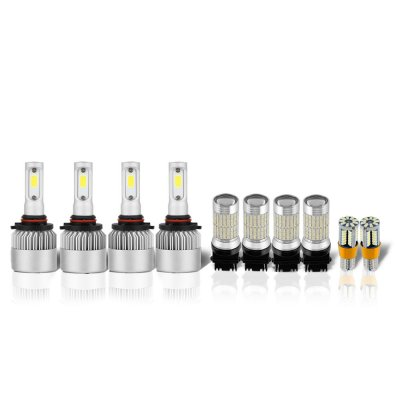 GMC Sierra 1994-1998 LED Headlight Bulbs Complete Kit
