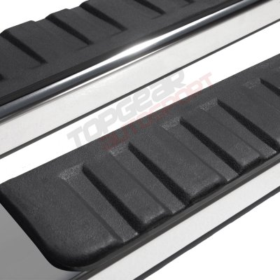 Nissan Titan Single Cab 2016-2019 Running Boards Stainless 5 Inches